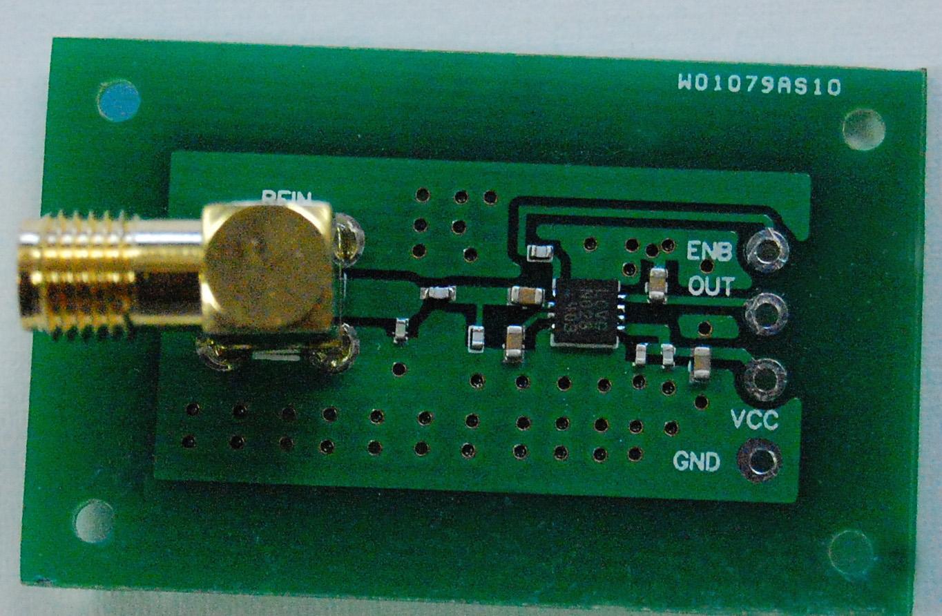 A wideband RF detector